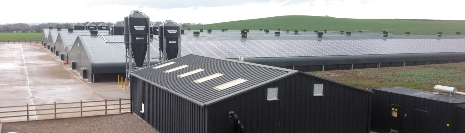 Ventmax providing poultry farm heating and cooling