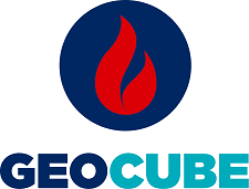 GeoCube ground source heat pump system logo