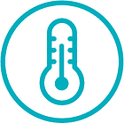 Improved temperature control icon