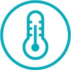 Improved temperature control icon