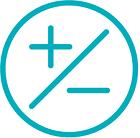 Reduced temperature drift icon